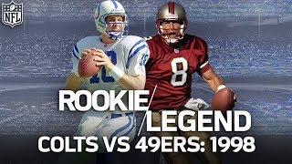 That Time Rookie Peyton Manning Dueled Steve Young in a Game Filled with Legends | NFL Vault Stories