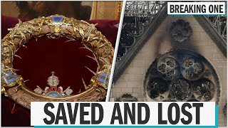 A look inside Notre Dame: what was saved, what was lost