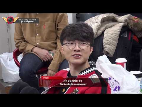 EP59. Why did Bengi and Faker get so surprised?![T1 CAMERA]