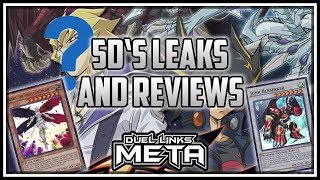 5D's Card LEAKS and Drop Rewards Review! SYNCHROS! [Yu-Gi-Oh! Duel Links]