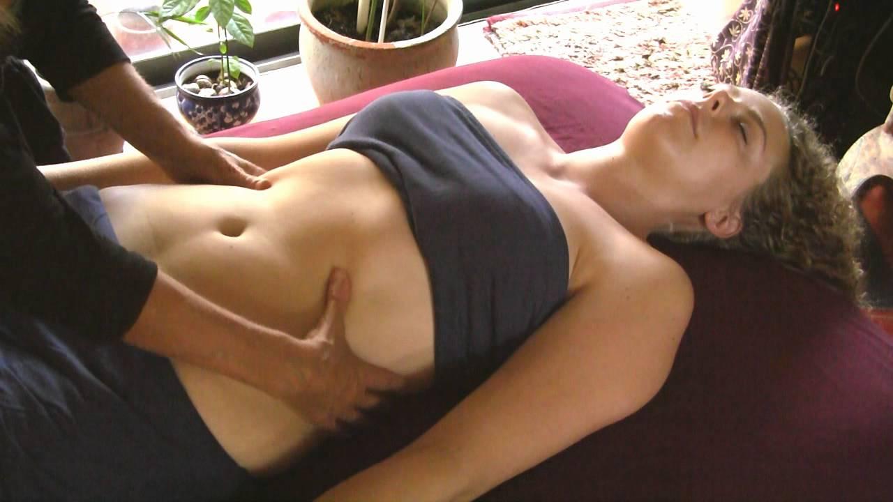 Boobs massage video