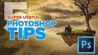 5 crazy USEFUL PHOTOSHOP TIPS U wish U knew