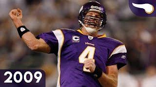 Favre Destroys Dallas D - Cowboys vs. Vikings (Div. Playoffs, 2009) Classic Highlights