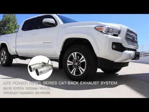 aFe POWER 2016 Toyota Tacoma V6-3.5L Cat-Back Exhaust Systems Sound Clip