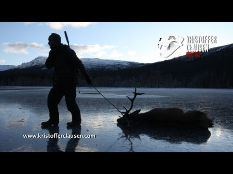 Kristoffer Clausen hunting red stag