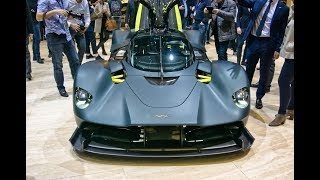 Aston Martin Valkyrie AM-RB 001 Hypercar - Spaceship TELEPORTED FROM THE FUTURE & Valkyrie AMR Pro