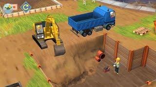 Little Builders Kids Games | Truck, Crane & Digger - Fun Construction Games For Children #bc