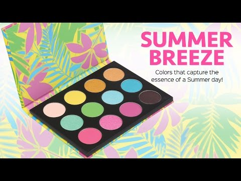 Coastal Scents Announces the Launch of Summer Breeze Palette