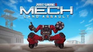 Just Cause 3 - Mech Land Assault Megjelenés Trailer