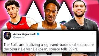 DEMAR DEROZAN IS A BULL! FULL Trade & Offseason Breakdown! [NBA News]