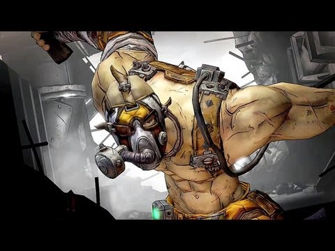 Borderlands 2 - Krieg The Psycho - Mania/Bloodlust Skill Tree Gameplay - Smashpipe Games