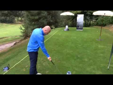 Alan Shearer at the Loo Chip Challenge
