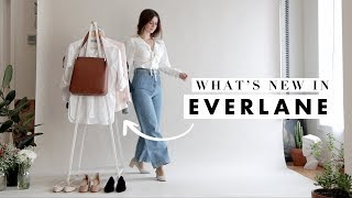 What's New In from Everlane + Try-On Haul - August 2018 | Dearly Bethany