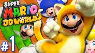 Super Mario 3D World - Info Overload | PART 1 | ScykohPlays