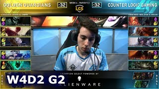 GGS vs CLG | Week 4 Day 2 S9 LCS Spring 2019 | Golden Guardians vs CLG W4D2