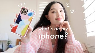 What's on my iphone 11 pro