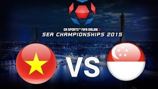[04.07.2015] VietNam vs Singapore [SEA CHAMPIONSHIP 2015]