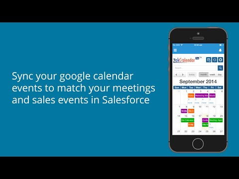 ZakCalendar Pro™: Leading Calendar App for Salesforce1™ Mobile Platform