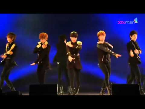 120226 Boyfriend - You are my lady + Don't touch my girl + intro + I'll be there