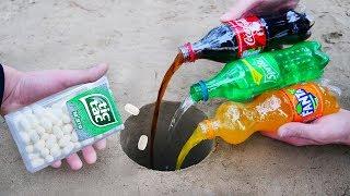 Experiment: Coke, Fanta, Sprite and Tic-Tac Underground