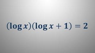 Logaritemska enačba 13