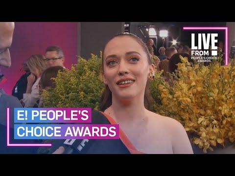 Kat Dennings Fangirls Over Gwen Stefani at 2019 PCAs   E! People's Choice Awards