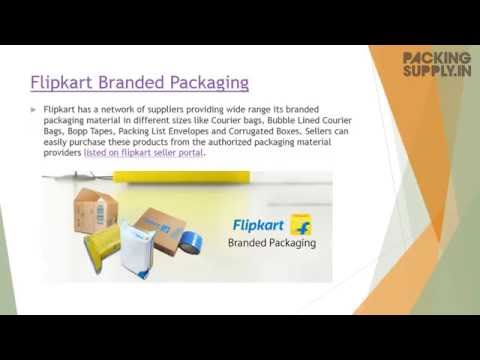 What are Flipkart Branded Packaging Products?