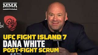 Dana White Talks Khabib's Future, Max Holloway's Performance, More - MMA Fighting