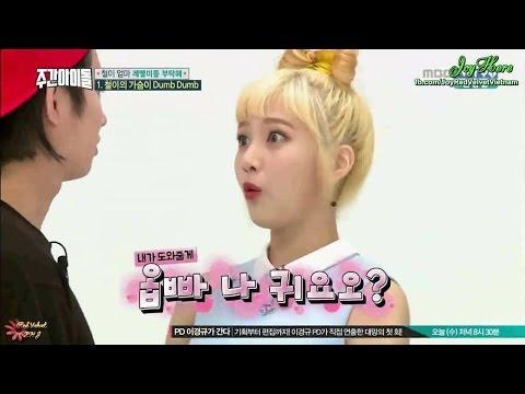 [JoyHere][Vietsub] Red Velvet Weekly Idol @ Heechul's Heart rate going down