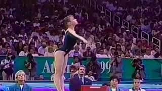 Lilia Podkopayeva (1996) //  Nastia Liukin (2008) Gymnastics Floor Music Audio Swap