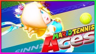 THE WORST PLAYER EVER! | Mario Tennis Aces Online Gameplay