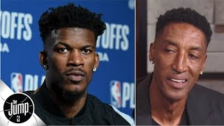 Jimmy Butler is good, but not good enough to be 'the star' on a team - Scottie Pippen | The Jump