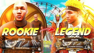 ROOKIE TO LEGEND EVOLUTION! (ALL REP REACTIONS IN ONE VIDEO) NBA 2K21 LEGEND MONTAGE