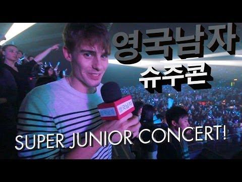 사람 대박 많았던 영국에서의 슈퍼주니어 콘서트!!  //  K-Pop Concert in London!!
