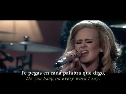Adele - One and only (Español - inglés)