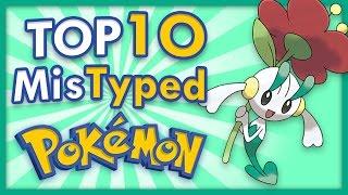 Top 10 Mistyped Pokemon