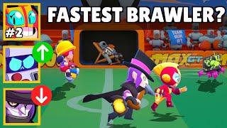 The FASTEST Brawler in Brawl Stars? Brawl Stars Olympics Speed Test!