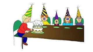 ESL Easy Listening Comprehension 4:  The Birthday Party