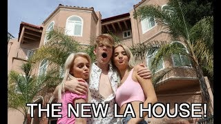 MOVING INTO THE NEW LA HOUSE WITH MY GIRLS.. (HOUSE TOUR!)