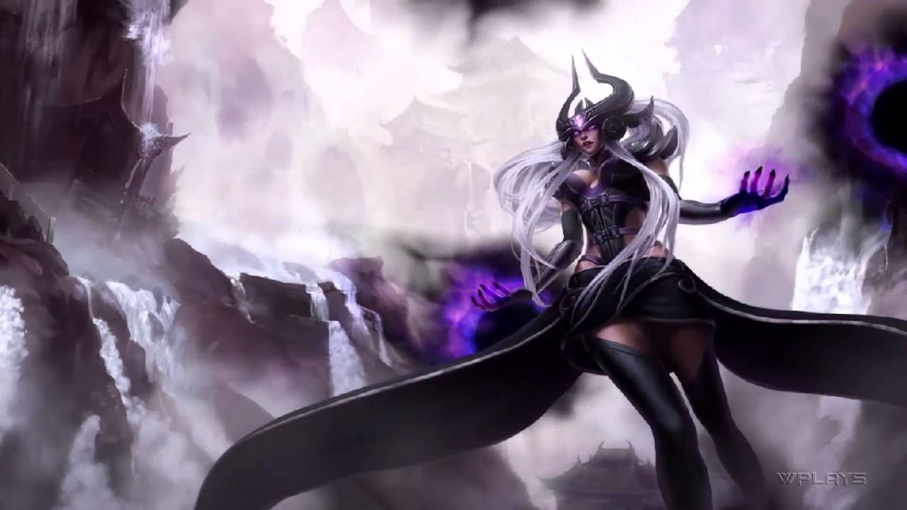 League of Legends - Syndra Login Screen and Music [1080p ...