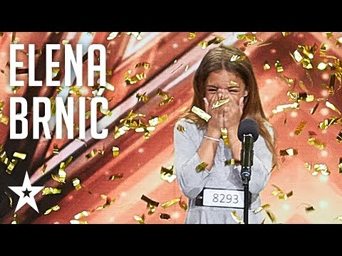 Elena Brnić wins second GOLDEN BUZZER│Supertalent 2018│Auditions