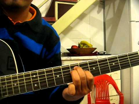 Rojo - Te Alabare - Tutorial en guitarra 1