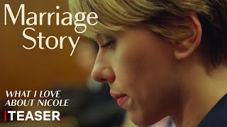 Marriage story :  teaser VOST