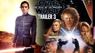 The Rise Of Skywalker New Trailer INSANE News Revealed! (Star Wars Episode 9 Trailer 3)