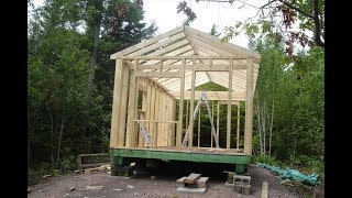 Building my off grid Cabin - What I did right and wish I had done different