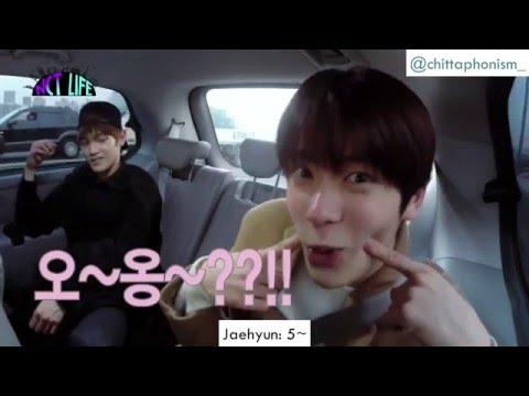 [Eng sub] NCT U (Doyoung,Ten, Johnny, Jaehyun, Taeyong) Aegyo CUT