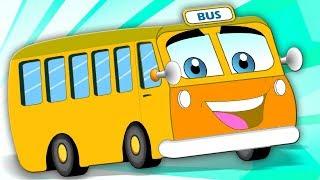 Rodas No Ônibus | crianças canções populares | Wheels On The Bus Rhyme | Cartoon Town Português