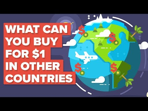 What a Dollar ($1) Gets You Around the World