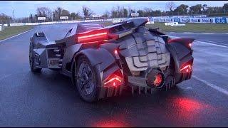 The NEW Team Galag Batmobile | Gumball 3000 2016