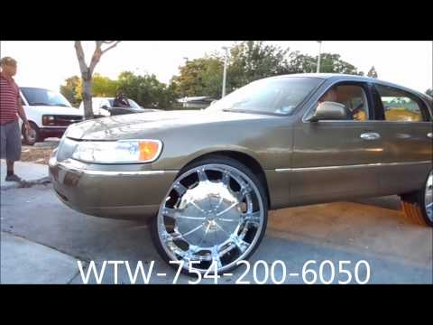 Lincoln Town Car On 24 Videomoviles Com